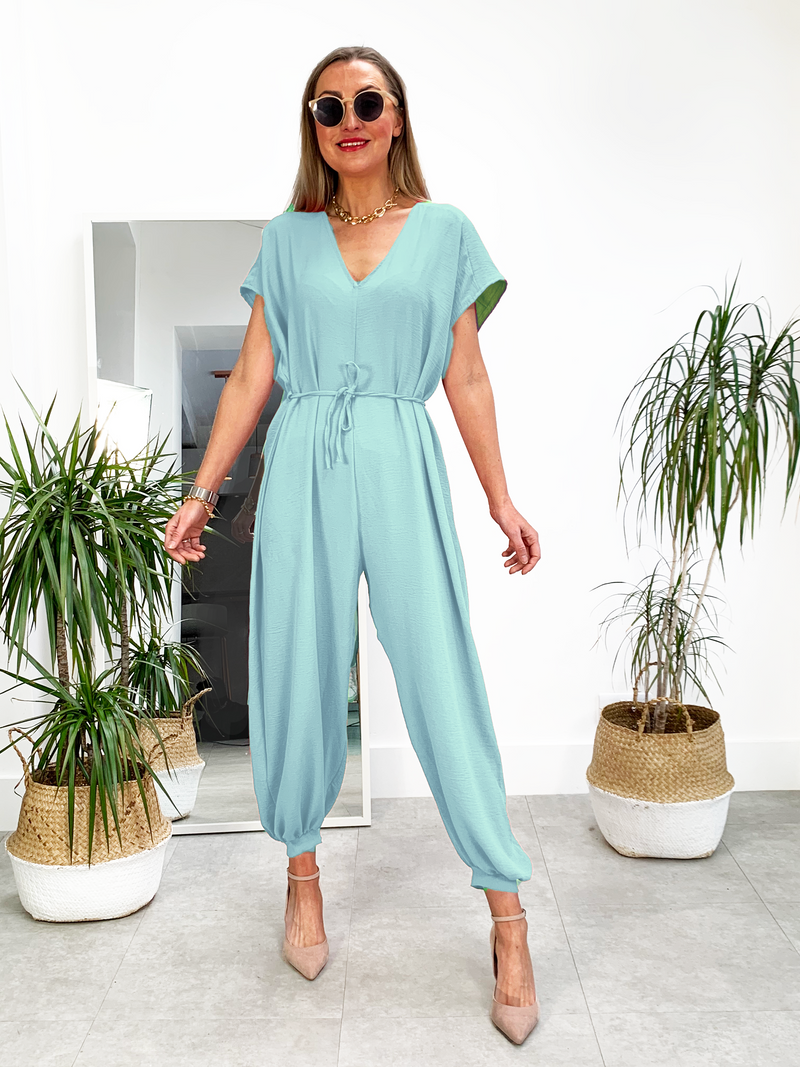 Jump for Joy Jumpsuit - Spearmint