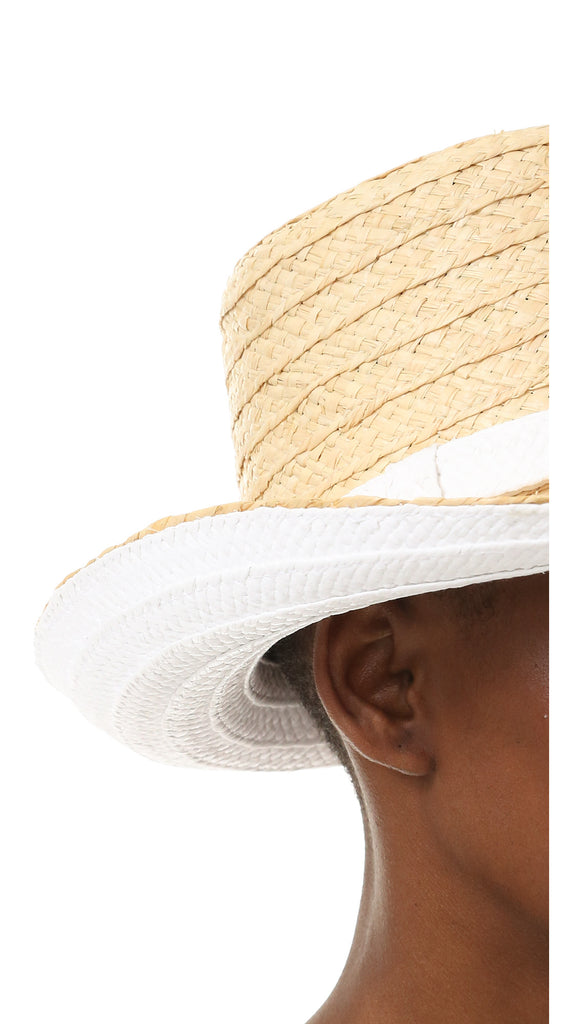 Colorblocked Sunhat