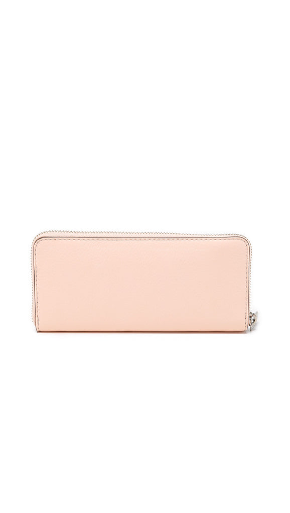 New Q Slim Zip Around Wallet