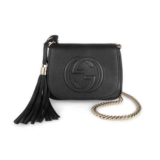 Small Embossed Leather Shoulder bag
