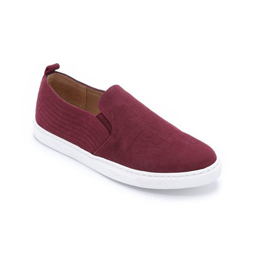 San Diego Slip On Sneakers Burgundy