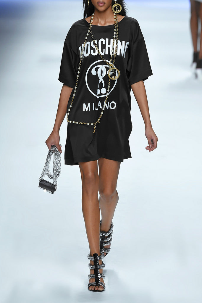 Logo-printed T-shirt Dress