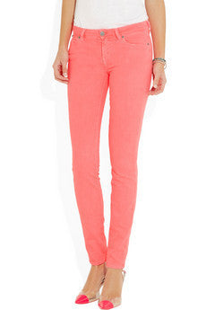 Dina low-rise skinny jeans