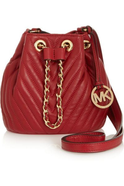 Frankie mini quilted leather shoulder bag
