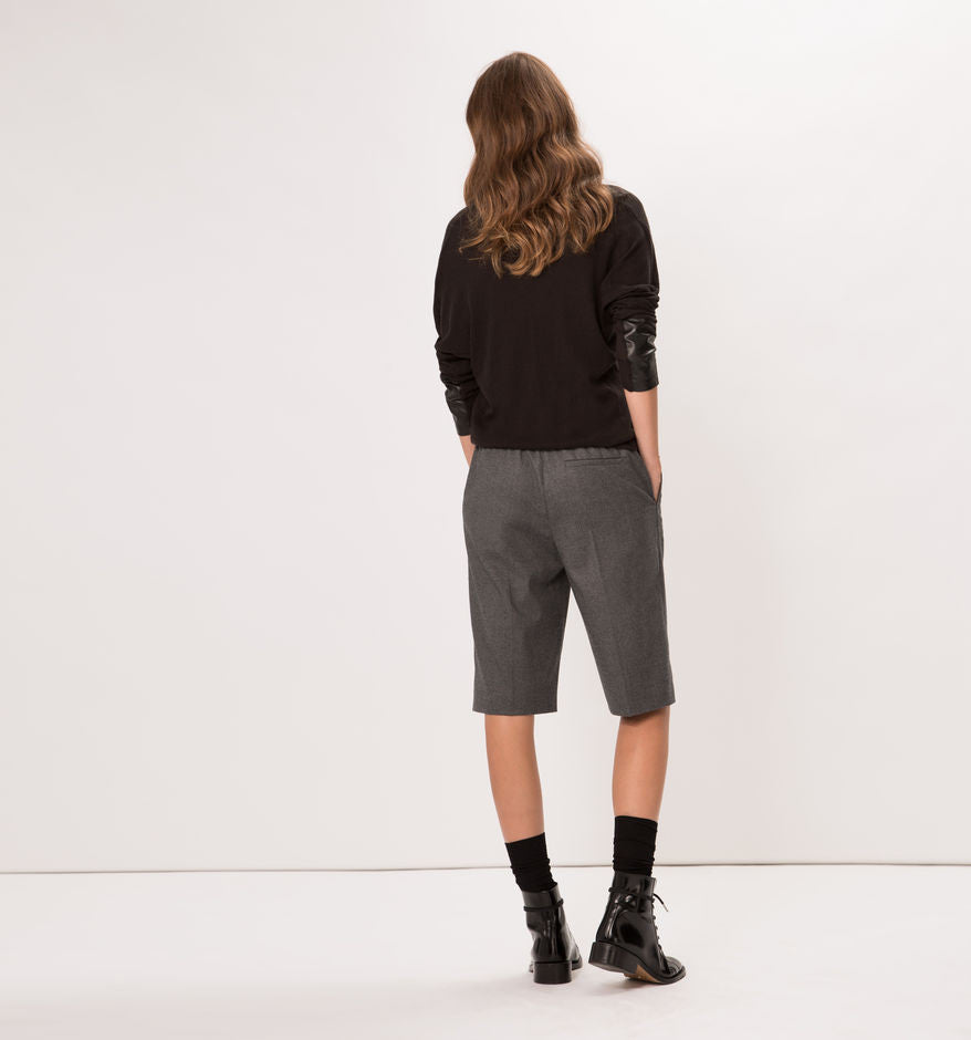 Knee-length Androgynous Shorts
