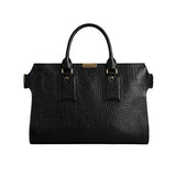 Large Signature Grain Leather Tote Bag