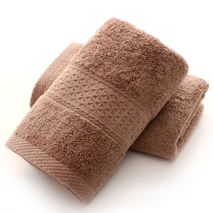 Beige 100% Cotton Bath Towel