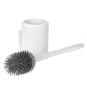 Bristles Soft Silicone Toilet Brush