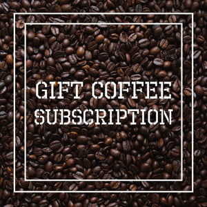Prepaid Gift Coffee Subscription Box