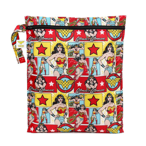 Bumkins Wet Bag - Wonder Woman