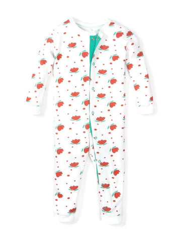 Organic Cotton Long Sleeved Onesie