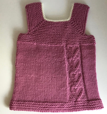 Hand Knitted Milo Wool 6m to 2 years