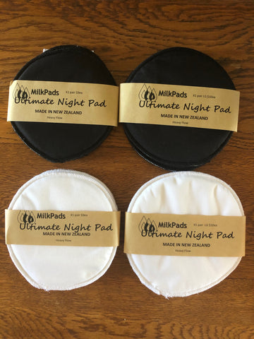 Milk Pads - Ultimate Night Pads (regular size)&(Large  size) 1x Pair