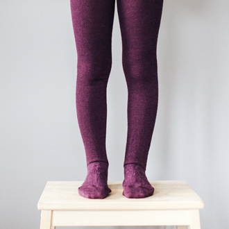 Lamington Merino Tights - Oak