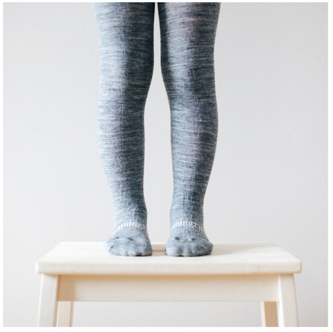 Lamington Merino Tights - Grey