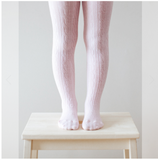 Lamington Merino Tights - Cherry Blossom