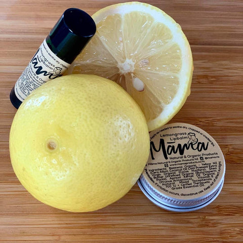 Māmā - Lemongrass Lip Balm - Tin 10g