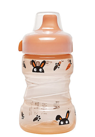 nip Leak-Proof Drinking Trainer Cup Hard Spout Bunny & Panda  - 260ml