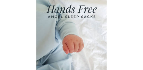Angel Sleep Sack Hands Free - (Large) 12months+