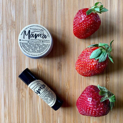 Māmā -Strawberry Lip Balm - Tin 10g