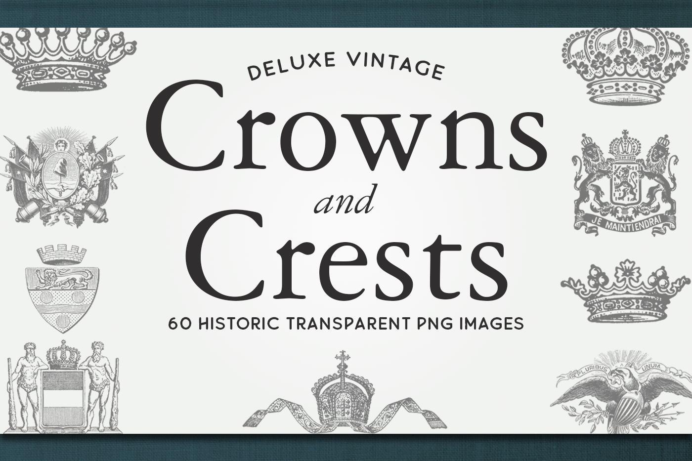 Vintage Crowns & Crests Bundle