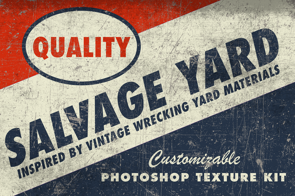 Salvage Yard Texture Kit for Photoshop