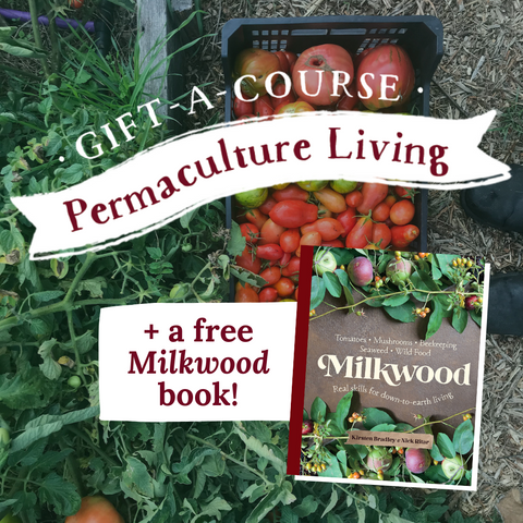 GIFT BUNDLE: Permaculture Living course + Milkwood book