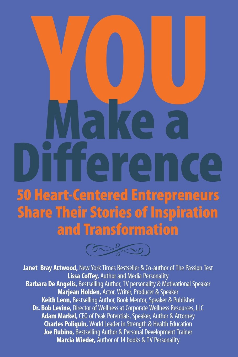 You Make a Difference Book 2012