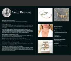 Aziza Jewelry in Toot Publication 2020