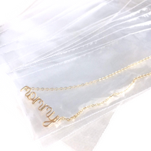 Load image into Gallery viewer, Jewelry Care - 20 Poly Bags for Tangle Free Chains. Tarnish Free Bags.