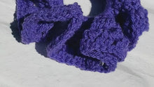 Load and play video in Gallery viewer, Crochet Fashion Hair Ties  (Limited Offer)