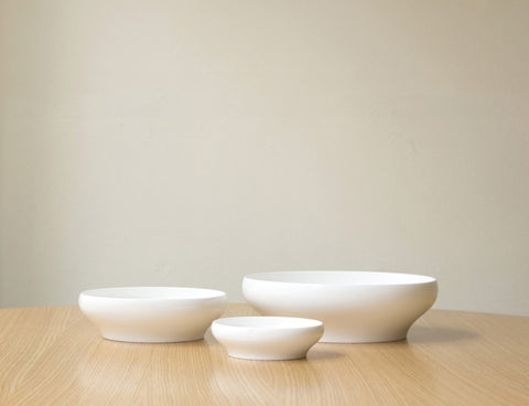 MINIMUM shallow bowl