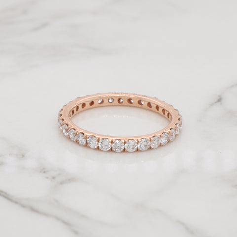 Simple Diamond Eternity Ring - 1ct