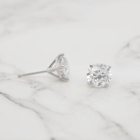 Diamond Studs - 3.00 Carat Total Weight