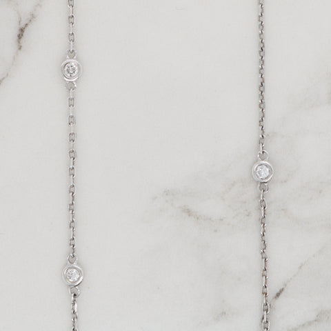 Diamonds by the Yard Necklace - 0.75ct