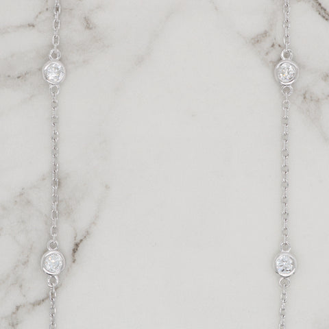 Diamonds by the Yard Necklace - 1.00ct