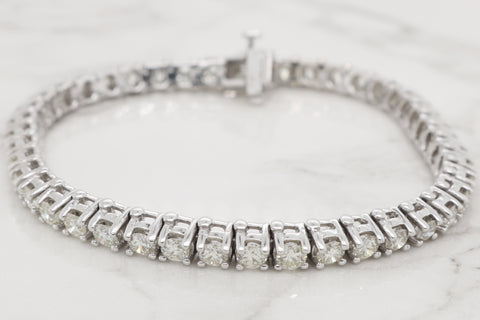 Classic Diamond Tennis Bracelet - 5ct