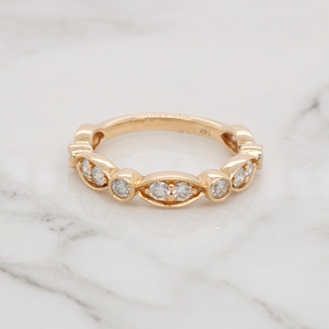 Antique Style Stackable Ring