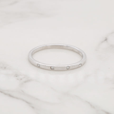 Petite Diamond Stackable Ring