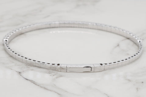 Diamond Flex Bangle - 2ct