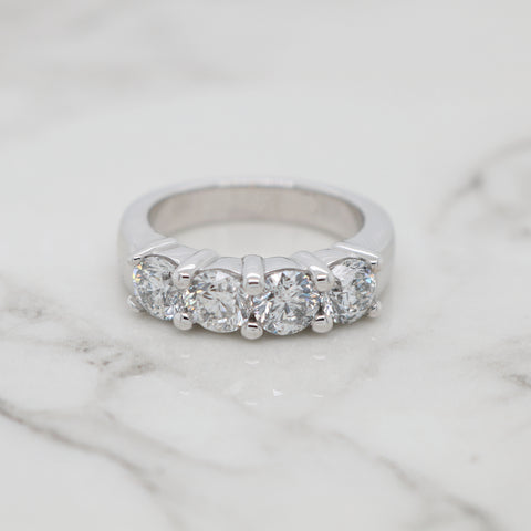 4 Stone Diamond Band - 1.80ct