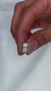 Diamond Studs - 1.00 Carat Total Weight