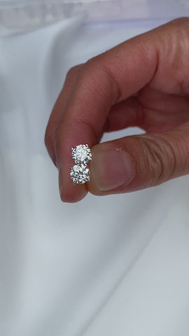 Diamond Studs - 1.50 Carat Total Weight
