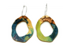 Sustainable jewellery Rock Hollow Earrings at Moppy and Eco
