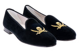 Sparrow Black Women Slipper (P.S)