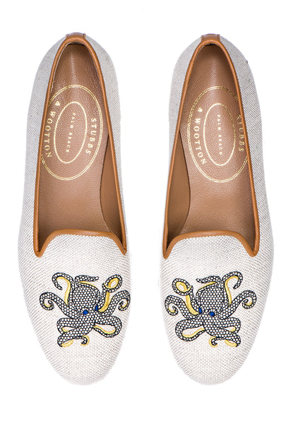 Octopus Flax Women Slipper