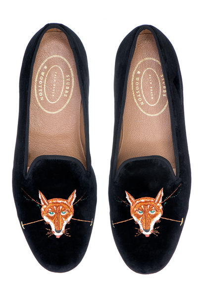 Fox Black Men Slipper