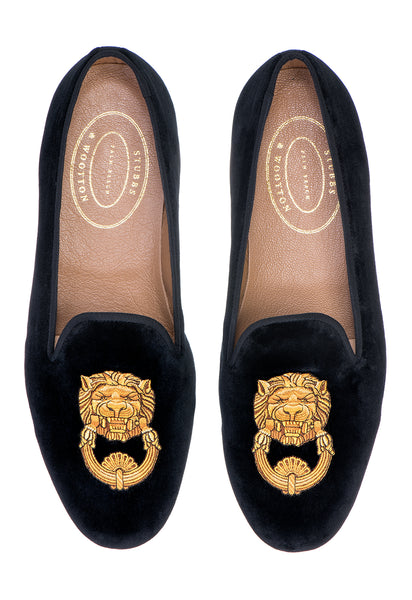 Leon Black Women Slipper