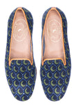 Crescent Navy Men Slipper (SDL)