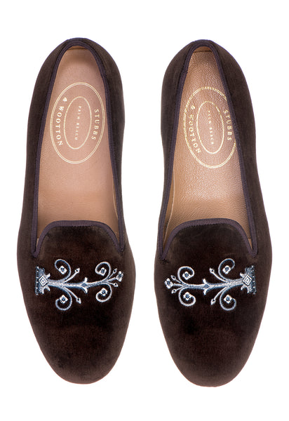Hinge Brown Women Slipper